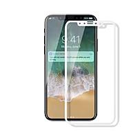 Недорогие Защитные плёнки для экрана iPhone-Защитная плёнка для экрана Apple для iPhone X Закаленное стекло 1 ед. Защитная пленка для экрана Против отпечатков пальцев Уровень защиты