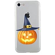 Назначение iPhone 7 iPhone 7 Plus Чехлы панели Прозрачный С узором Задняя крышка Кейс для Halloween Мягкий Термопластик для Apple iPhone