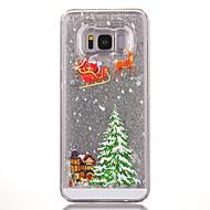 voor case cover vloeiende vloeibare patroon back cover case boom harde pc voor Samsung Galaxy S8 plus S8