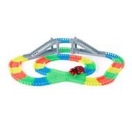 Rennauto Untergrund - Seitenstützen Spielzeuge andere Nachts leuchtend Jungen Stücke