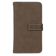 Недорогие Чехлы и кейсы для Galaxy Note-Кейс для Назначение SSamsung Galaxy Note 8 Note 5 Бумажник для карт со стендом Флип Чехол Сплошной цвет Твердый Кожа PU для Note 8 Note 5