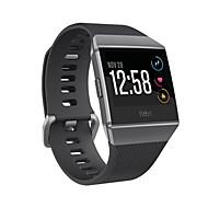 для fitbit ионной мягкой силиконовой замены спортивный ремень ленты умный фитнес-часы