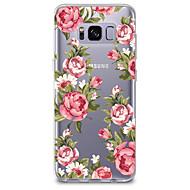 tanie Galaxy S5 Mini Etui / Pokrowce-Kılıf Na Przezroczyste Wzór Etui na tył Kwiaty Miękkie TPU na S8 S8 Plus S7 edge S7 S6 edge plus S6 edge S6 S6 Active S5 Mini S5 Active