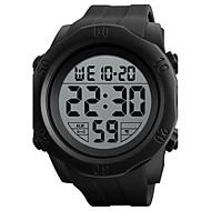SKMEI 남성용 스포츠 시계 디지털 시계 디지털 실리콘 밴드 블랙 그린