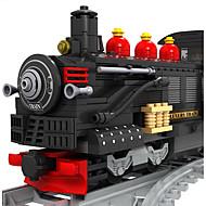 cheap Toys & Hobbies-Building Blocks Train Toys Train Still Life Vehicles Fashion Children's Pieces