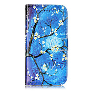 Кейс для Назначение Apple iPhone X iPhone 8 iPhone 8 Plus Кошелек Бумажник для карт со стендом Флип С узором Чехол дерево Твердый