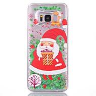 Недорогие Чехлы и кейсы для Galaxy S-Кейс для Назначение S8 Plus S8 Движущаяся жидкость С узором Кейс на заднюю панель Рождество Твердый ПК для S7 edge S7 S6 edge S6