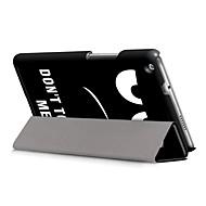 お買い得  タブレット用アクセサリー-ケース 用途 Huawei MediaPad M3 Lite 8(CPN-W09, CPN-AL00 フルボディーケース ハード PUレザー のために Huawei MediaPad M3 Lite 8(CPN-W09, CPN-AL00