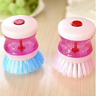 billige Håndholdte børster og vinduesskrabere-Høj kvalitet Køkken Rengøringsbørste og klud