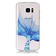 billige Galaxy S5 Mini Etuier-Etui Til Samsung Galaxy S8 Plus S8 Transparent Mønster Bagcover Dyr Blødt TPU for S8 Plus S8 S7 edge S7 S6 edge plus S6 edge S6 S6 Active