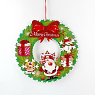 お買い得  インテリア用品-2本 クリスマス リース&ガーランド, ホリデーデコレーション 36