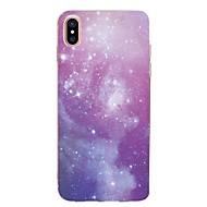 для крышки случая прозрачный тип задняя крышка случая небо мягкое tpu для яблока iphone x iphone 8 плюс iphone 8 iphone 7 плюс iphone 7