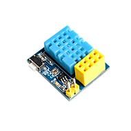 お買い得  Arduino 用アクセサリー-esp8266 esp-01 esp-01s dht11温度湿度wifiノードモジュールに無線モジュールが含まれていません