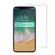 Недорогие Защитные плёнки для экрана iPhone-Защитная плёнка для экрана для iPhone X Закаленное стекло 1 ед. Защитная пленка для экрана Против отпечатков пальцев Защита от царапин