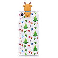 Χαμηλού Κόστους Θήκες κινητών τηλεφώνων-tok Για Sony Sony Xperia XA Sony Xperia X Xperia XA1 Ultra Xperia XA1 Με σχέδια Φτιάξτο Μόνος Σου Πίσω Κάλυμμα Χριστούγεννα Κινούμενα