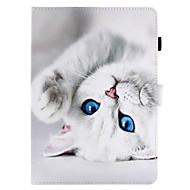 olcso iPad tokok-Case Kompatibilitás Apple iPad Mini 4 iPad Mini 3/2/1 iPad 4/3/2 iPad Air 2 iPad Air Kártyatartó Állvánnyal Flip Mágneses Minta Héjtok