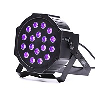 U'King ZQ-B194B 18*1W LEDs Purple Color Auto DMX Sound Activated Par Stage Lighting for Disco Party Club KTV Wedding