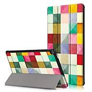 お買い得  タブレット用アクセサリー-ケース 用途 Amazon フルボディーケース / タブレットケース ハード PUレザー のために
