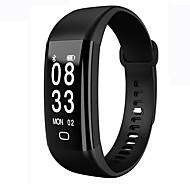 billiga Smarta aktivitetsarmband, armband och klämmor-Smart armband iOS Android Vattenavvisande Brända Kalorier Stegräknare Träningslogg Hjärtfrekvensmonitor Pekskärm Alarmklocka