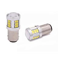 Недорогие Внешние огни для авто-2шт верхняя конструкция объектива bay15d 1157 светодиодный индикатор поворота поворота 9w 720lm led stop light white