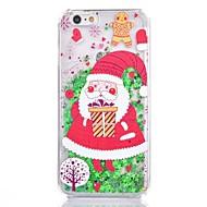 Кейс для Назначение iPhone 8 iPhone 8 Plus Движущаяся жидкость С узором Задняя крышка Рождество Твердый PC для iPhone 8 Plus iPhone 8