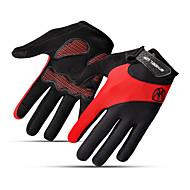 Luvas Esportivas Luvas de Inverno Manter Quente Dedo Total Malha Algodão Ciclismo / Moto Unisexo