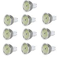 お買い得  LED スポットライト-10個 6W 600lm E14 / GU10 / GU5.3 LEDスポットライト 48 LEDビーズ SMD 2835 装飾用 温白色 / クールホワイト 85-265V / RoHs