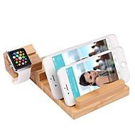 Недорогие Крепления и держатели для Apple Watch-универсальный Всё в одном Бамбук Стол