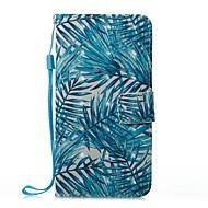 Недорогие Чехлы и кейсы для Galaxy S-Кейс для Назначение SSamsung Galaxy S8 Plus S8 Бумажник для карт Кошелек со стендом Флип Магнитный С узором Чехол Пейзаж Твердый Кожа PU