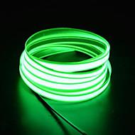 billige LED-stribelys-BRELONG® 0 lysdioder Hvid Lyserød Grøn Blå Rød Vandtæt Selvklæbende <5V