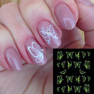 preiswerte -Nagel-Kunst-Aufkleber Wasser Transfer Aufkleber Aufkleber Make-up kosmetische Nagelkunst Design