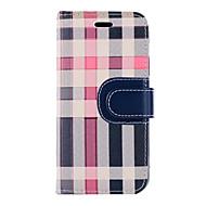 Недорогие Кейсы для iPhone 8 Plus-Кейс для Назначение Apple iPhone X iPhone 8 Бумажник для карт Кошелек со стендом Флип Чехол Полосы / волосы Твердый Текстиль для iPhone X