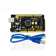 voordelige Arduino-accessoires-1pcs keyestudio mega 2560 r3 1pcs usb kabel voor arduino mega 2560 r3 / avr