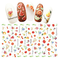 1 Nail Art Sticker  3D Nail Stickers Other Decorations Sticker Makeup Cosmetic Nail Art Design