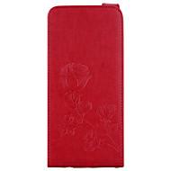 billige Galaxy S5 Mini Etuier-Etui Til Samsung Galaxy S8 Plus S8 Kortholder Pung Med stativ Flip Magnetisk Mønster Præget Fuldt etui Blomst Hårdt PU Læder for S8 Plus