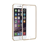 Недорогие Защитные плёнки для экрана iPhone-Защитная плёнка для экрана для Apple iPhone 6s / iPhone 6 Закаленное стекло / Титановый сплав 1 ед. Защитная пленка Зеркальная поверхность