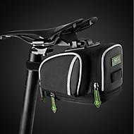 お買い得  -ROCKBROS 自転車用サドルバッグ 防水, 簡単装着 自転車用バッグ ナイロン 自転車用バッグ サイクリングバッグ サイクリング サイクリング / バイク