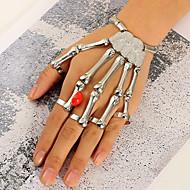 Női Gyűrű karkötők Méretes ékszerek Túlméretezett Ötvözet Ékszerek Ékszerek Kompatibilitás Parti Halloween