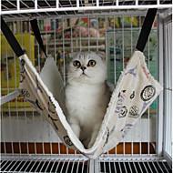 Katze Hund Betten Haustiere Matten & Polster Tupfen Britisch warm halten Tragbar Klappbar Weich Waschbar Schwarz Regenbogen Für Haustiere