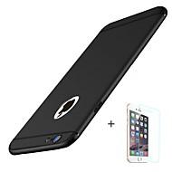Кейс для Назначение Apple iPhone 8 iPhone 8 Plus Матовое Задняя крышка Сплошной цвет Мягкий TPU для iPhone X iPhone 8 Plus iPhone 8