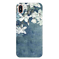 Coque Pour Apple iPhone X / iPhone 8 / iPhone 7 Ultrafine / Motif Coque Fleur Flexible TPU pour iPhone X / iPhone 8 Plus / iPhone 8