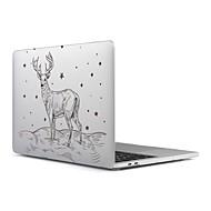 """お買い得  MacBook 用ケース/バッグ/スリーブ-MacBook ケース つや消し クリスマス プラスチック のために 新MacBook Pro 15"""" / 新MacBook Pro 13"""" / MacBook Pro 15インチ"""