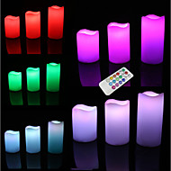 LED Lighting Toys Round Cylindrical Holiday Bulb Included Flourescent Adults' Pieces