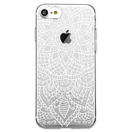 Case For Apple iPhone 7 Plus iPhone 7 Pattern Back Cover Mandala Soft TPU for iPhone X iPhone 8 Plus iPhone 8 iPhone 7 Plus iPhone 7