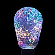 ywxlight® e27 2w 40led 8.0 rgb led licht string bulb ballen voor vakantie decoratie ac 85-265v
