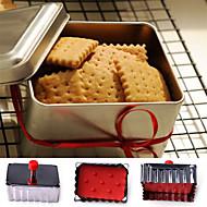 お買い得  キッチン用小物-ベークツール ステンレス鋼 クッキー / クッキーのための / キャンディのための 方形 クッキーカッター 1個