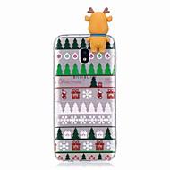 Кейс для Назначение SSamsung Galaxy J7 (2017) J5 (2017) Защита от удара Задняя крышка 3D в мультяшном стиле Рождество Мягкий TPU для J7