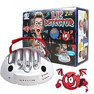 voordelige Spellen-Leugendetector Leugendetectortest voor volwassenen Bordspellen Consolespeelgoed Speeltjes Micro elektrische schok Speeltjes Muovi ABS 1pcs