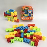 Klocki Zabawki Słoń Zwierzęta Cartoon Shaped Animal Shape Animals Rodzina Torebki Cartoon Toy DIY Motyw kreskówkowy 34 Sztuk