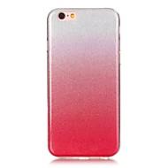 Недорогие Кейсы для iPhone 8-Кейс для Назначение Apple iPhone 8 iPhone 8 Plus Ультратонкий Кейс на заднюю панель Сияние и блеск Мягкий ТПУ для iPhone 8 Pluss iPhone 8
